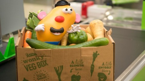 The new Mr. Potato Head is truer to his ugly produce self. (Photo: Hasbro.)
