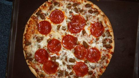 The presidential election has apparently got people staying at home more and ordering pizza. (Photo: ztm/Flickr.)