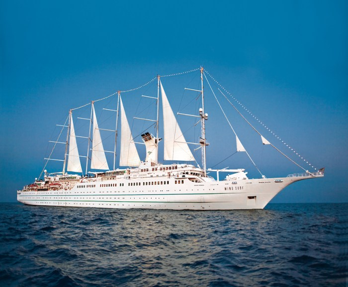 "A trio of cruises dubbed the ""James Beard Foundation Collection"" is a partnership between Windstar Cruises and the James Beard Foundation. (Photo credit: Windstar Cruises)"