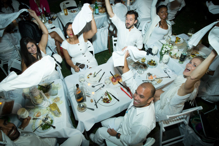 This year's Dîner En Blanc boasted a waiting list of 45,000 people. (Photos courtesy of Dîner En Blanc.)