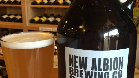 New Albion is often referenced as the original craft beer brewer. (Photo: New Albion Brewing/Facebook.)