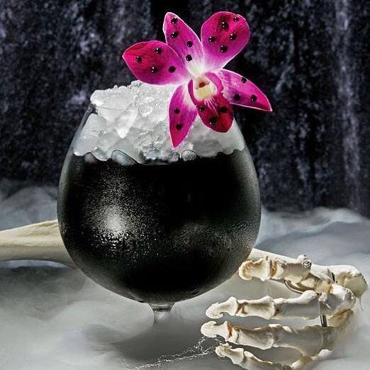 activated charcoal cocktail