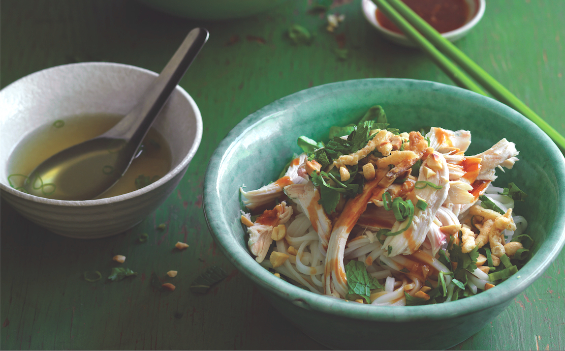Make This Hearty Chicken Pho Noodle Salad