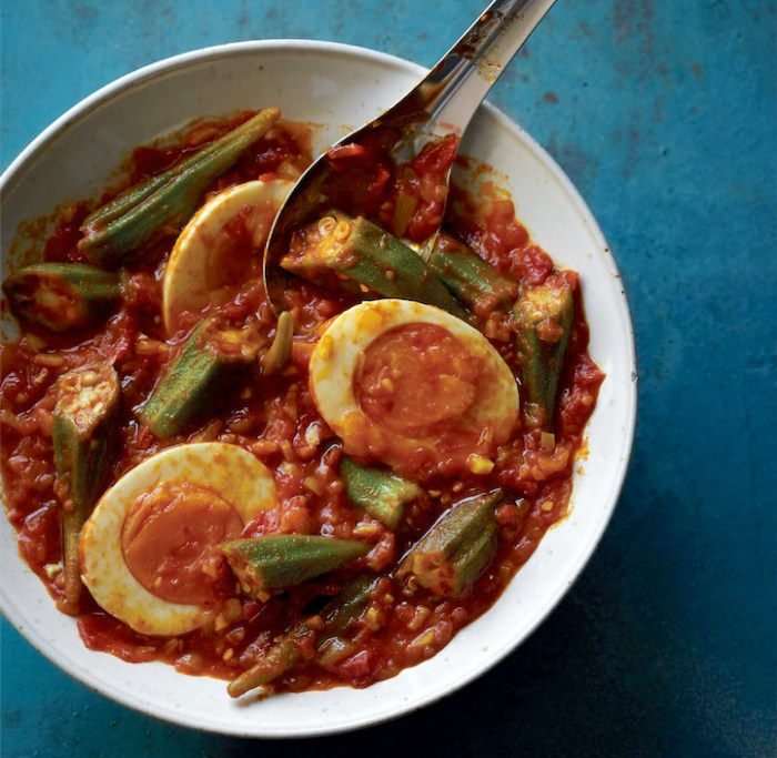 Egg And Okra Curry