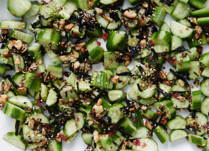 Cucumber Umeboshi Salad