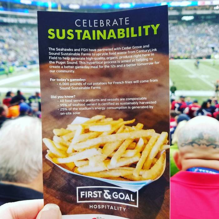 Stadium Food Waste