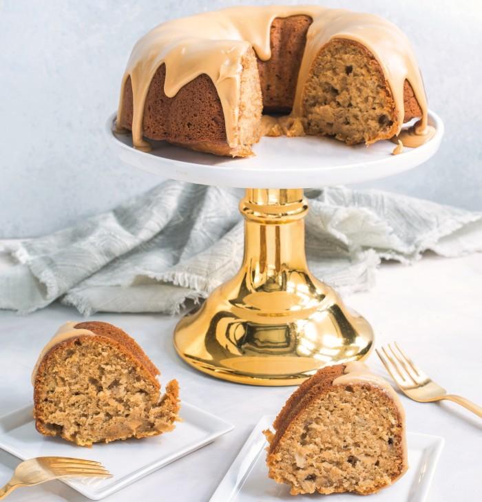 ginger apple cake