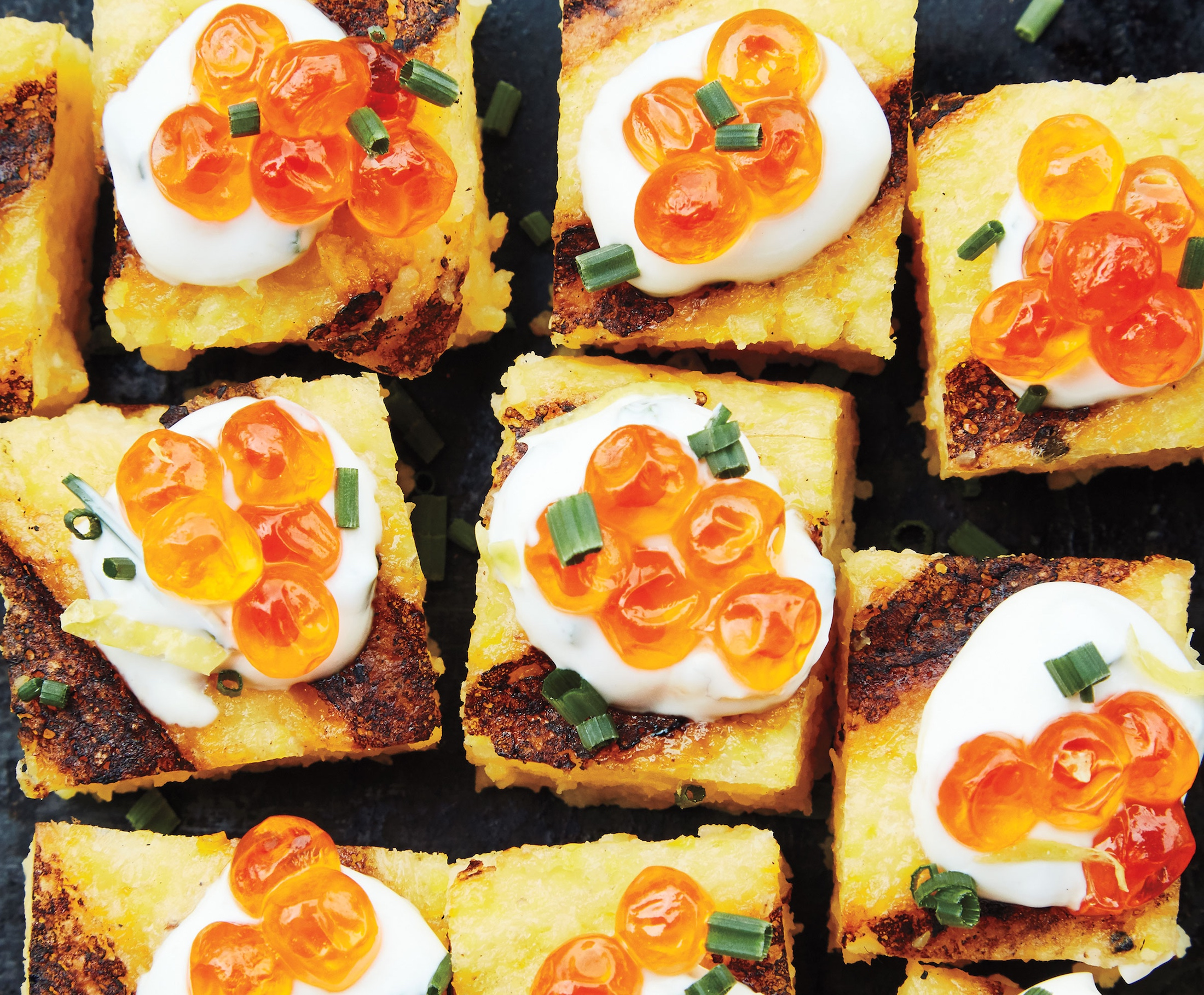 How to make polenta squares
