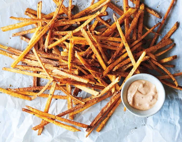 crispy potato sticks