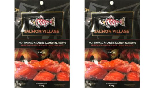recalled Salmon Village nuggets