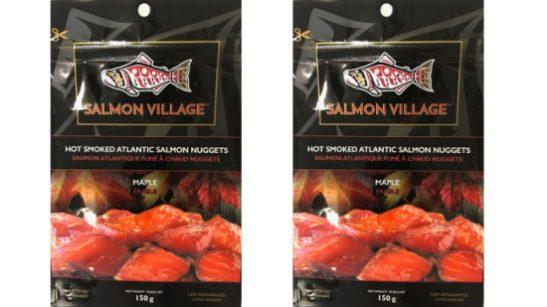 recalled Salmon Village nuggets