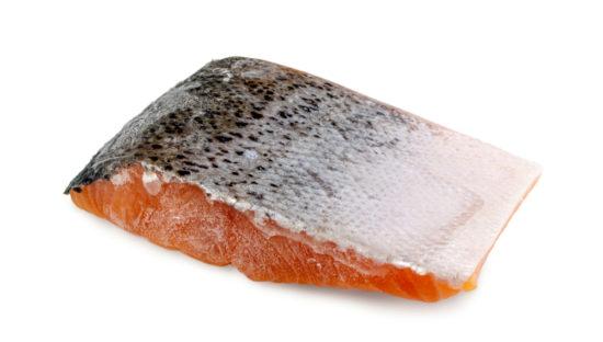 frozen smoked salmon