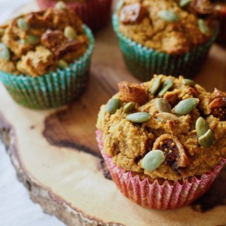 Paleo Pumpkin Fig Muffins
