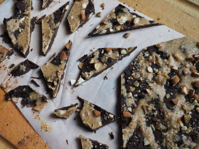 ginger almond bark