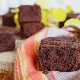 Tahini Pumpkin Paleo Brownies
