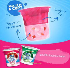 Nestle Fruit Selection Yogurt with Jelly