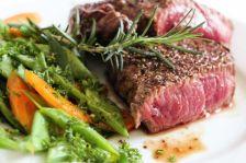 foodtruck met bbq steak