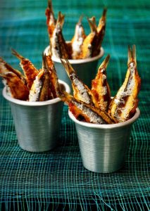 foodtruck met vis sardientje