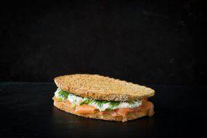 Foodtruck met croques zalm