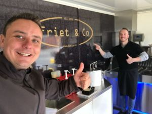 foodtruck met frieten