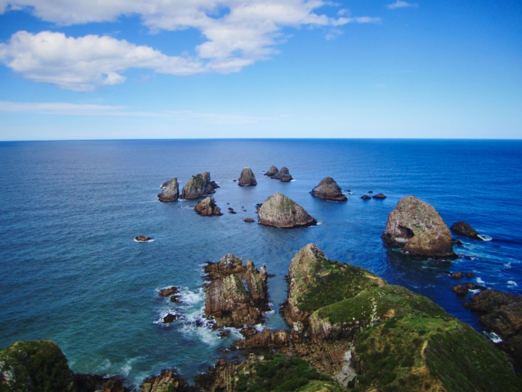 Vue depuis le phare du Nugget Point