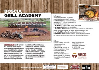 Boscia Grill Academy - Grillkurse in Namibia