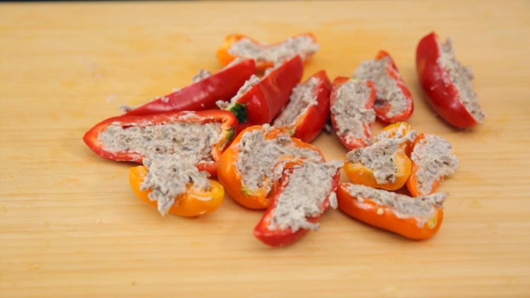Gegrillte Paprika-Popper