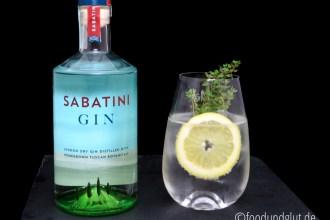 Sabatini - der Gin aus der Toskana