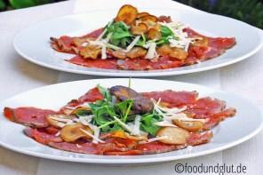 Sliced Kitchen – Gegrilltes Rindercarpaccio