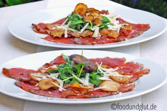 Sliced Kitchen - Gegrilltes Rindercarpaccio