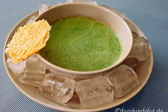 Rucola-Buttermilch-Suppe