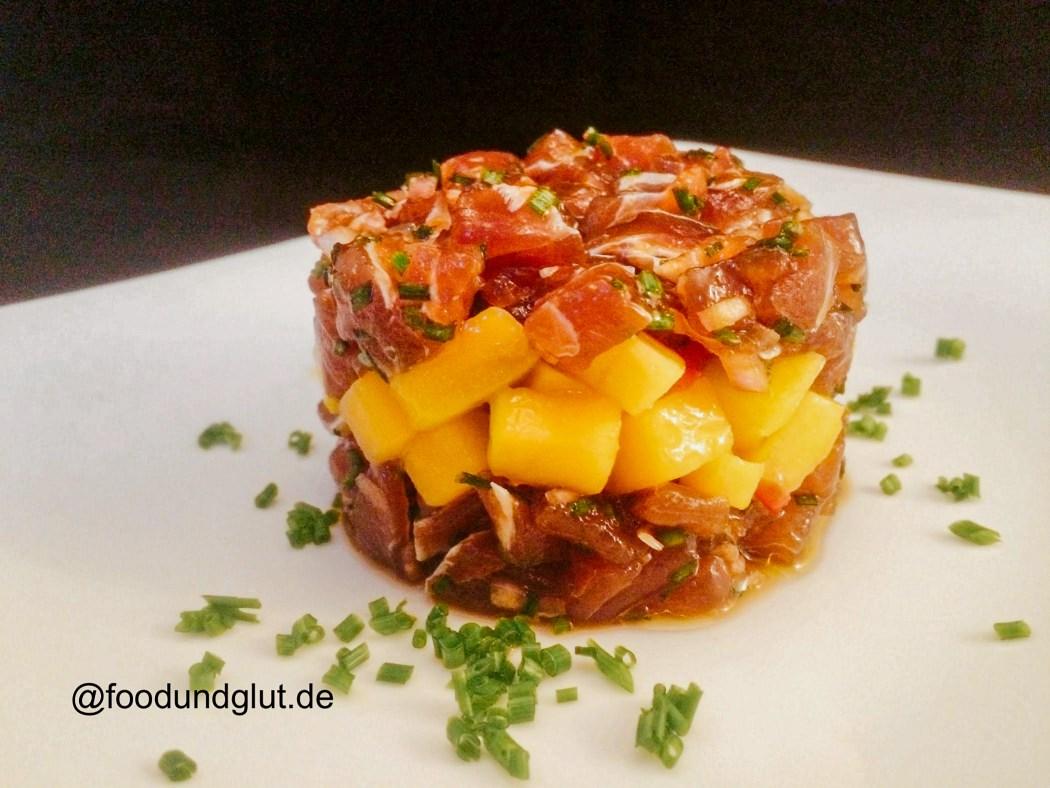 Thunfisch-Mango-Tatar