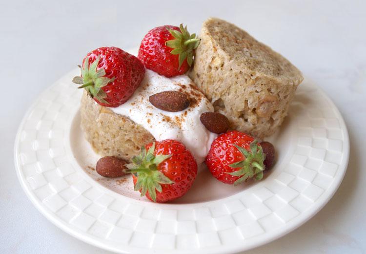 Mugcake – ontbijten kan zo simpel zijn!