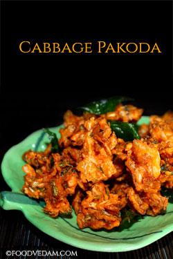 Cabbage-Pakoda