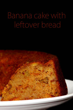 Bananacake-with-leftover-bread