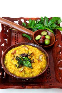 Vakkaya Pappu or pickle berry dal recipe