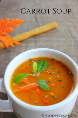 Carrot Soup – How to prepare quick and easy carrot soup