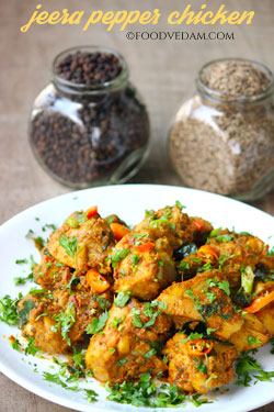 Jeera pepper chicken