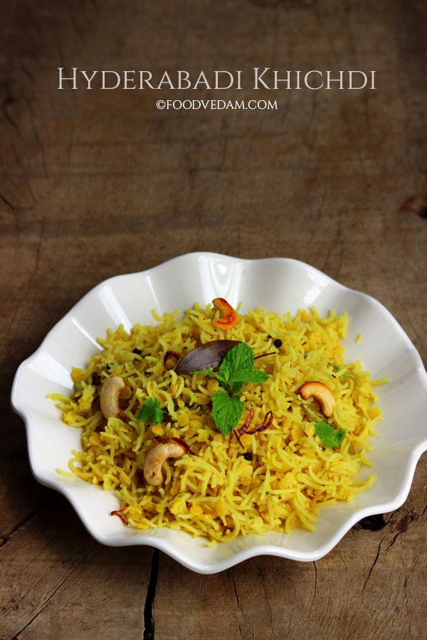 Hyderabadi khichdi how to cook masoor dal khichdi foodvedam hyderabadi khichdi ccuart Choice Image
