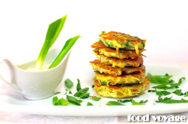 Драники Картофельные с чесноком и зеленью