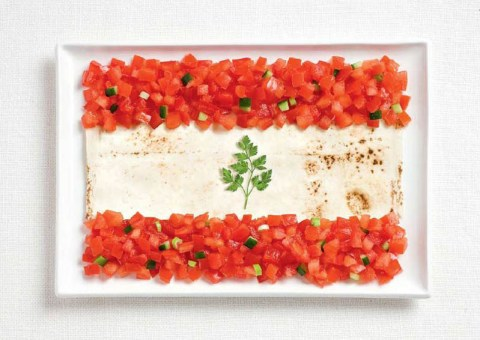 lebanon tomatoes pita and parsley