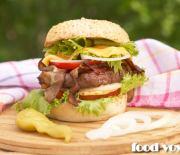 Самый вкусный говяжий Бургер