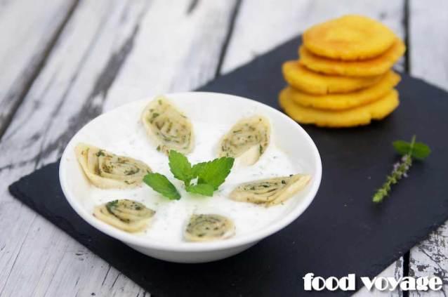 Гебжалия. Грузинская закуска из сыра сулугуни