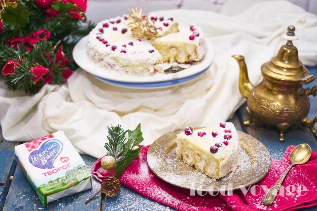 """Блинный торт """"Зимняя сказка"""""""