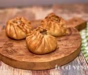 Восточные пирожки с говядиной, картофелем, курдюком и кумином
