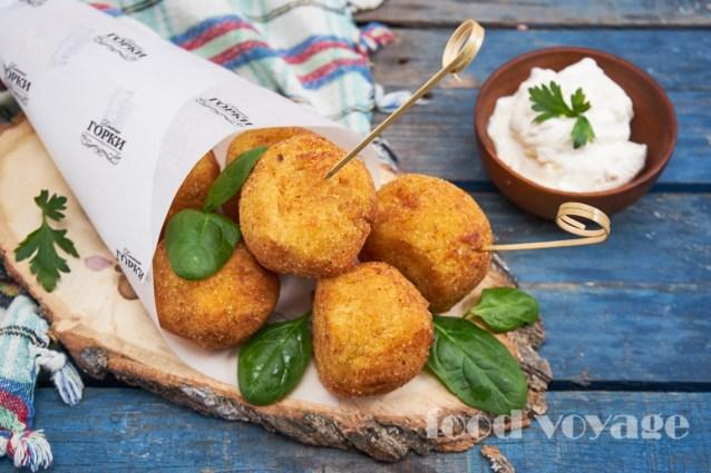 Крокеты картофельные с Одесской колбасой