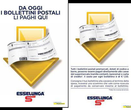 Esselunga Accordo Con Poste Italiane Per I Bollettini Alla
