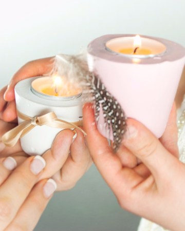 gips, teelicht, basteln, einfach Liv, deko, verschönern, Bastel Idee, Geschenk Idee, Ostern, Osterdeko