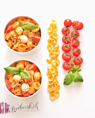 orecchiette, pasta, salat, grillen, bbq, beilage, zum grill, Rezept, idee, einfach kochen, einfaches rezept, rezepte, schweizer foodblogs, foodwerk.ch, foodwerk, foodblog, blog, food, kochen, backen, cook, bake, swiss, swiss foodblog, foodblogger, foodie, instafood, foodblogs, familyblog