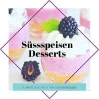 süssspeisen und dessert galerie